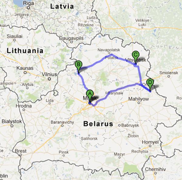 Minsk-Myadel-Vitebsk-Horki-Minsk-2